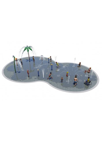 Lot Splashpad 30U