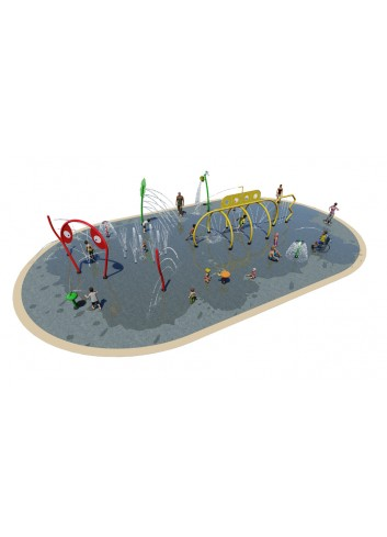 Lot Splashpad 50U