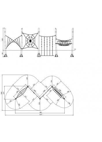 Plano joc de recorregut Acrobat 9073