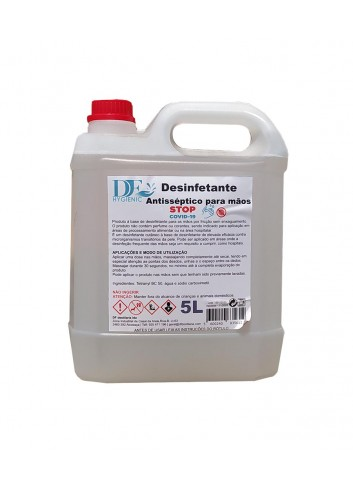 "Garrafa 5l. Desinfectante ""Happygel"" (NO INFLAMABLE)"